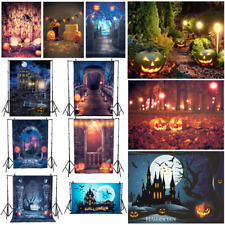 5X7Ft Photo Background Halloween Vinyl Studio Photography Props Backdrop Art