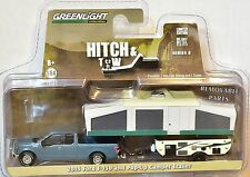 Greenlight Hitch & Tow 8 * 2015 Ford F-150 & Pop-Up Camper Trailer
