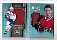 Nikita Scherbak Montreal Canadiens 2017-18 Black Diamond rookie booklet relic