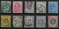 KEVII Selection With Values To 9d.&1s.  Fine/Very Fine Used.  Ref.0854