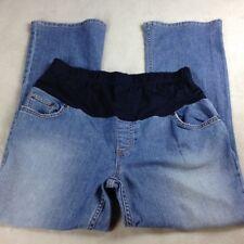 Liz Lange Size 4 Maternity Stretch Medium Wash Jeans