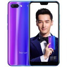 Huawei Honor 10 COL-AL10, 6GB+128GB, China Version, Dual AI Rear Cameras,C(Blue)