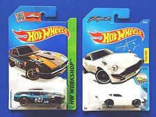 2015 & 2017 Hot Wheels 1969 DATSUN 240Z & CUSTOM 1973 DATSUN 240Z FuguZ mint