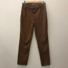 High Waisted Mom Jeans Gloria Vanderbilt Size 10 Amanda Sepia Tawny Brown