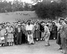 Ben Hogan chipping during the1950's Masters golf at Augusta National photo