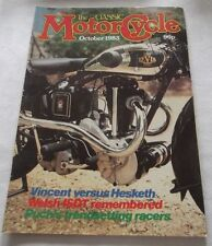 A The Classic Motorcycle Magazine October 1983