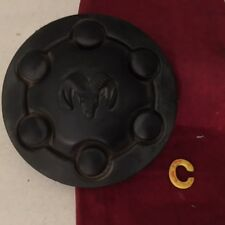 #C 91 - 96 DODGE DAKOTA 6 LUG BLACK WHEEL HUB CENTER CAP USED 52057817