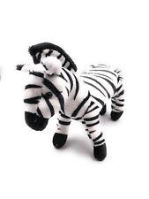 Plüschtier Kuscheltier Stoff Tier Zebra Pferd gestreift 24 cm