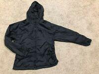 CABELA'S size M  100% Waterproof  PACKABLE Rain Jacket BLACK  *HARDLY WORN* J20