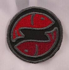 Embroidered Horoscope Astrology Red & Black Pisces Fish Sign Patch Iron On Sew