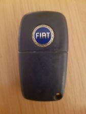 FIAT 3 BUTTON REMOTE CAR KEY FOB IN WORKING ORDER (REF 406/5)