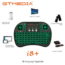 GTMEDIA Teclado Inalambrico MINI Smart TV I8 con Touchpad Bluetooth con batería