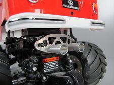 Aluminum Muffler Battery Cover Tamiya 1/10 Wild Willy 2 Suzuki Volkswagen Honda