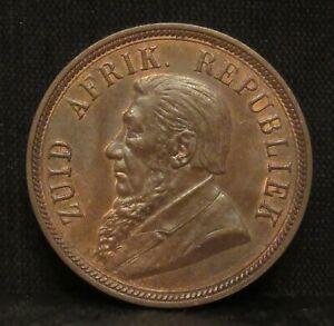 South Africa 1898 1 Penny Zuid Afrikaansche Republiek BU B&R