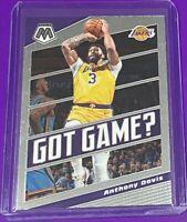 2019-20 Panini Mosaic Anthony Davis Got Game? Los Angeles Lakers #6 CHAMP 🔥