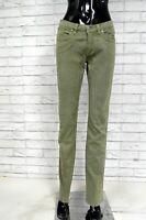 Pantalone Donna JECKERSON Taglia 28 Jeans a Costine Pants Woman Cotone Slim