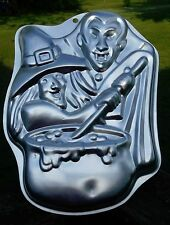 1999 Wilton Cake Pan ~ Monster Party 2105-2039 ~ Witch Vampire Dracula ~ GUC