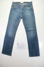 Levi's 627 Straight Fit (Cod. E1379) Tg45 W31 L32 jeans usato Vita Alta Vintage