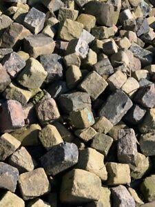 Reclaimed Stone Cobble Setts
