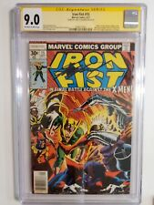IRON FIST #15 (CGC 9.0) 1977 SIGNED by CHRIS CLAREMONT! X-MEN COVER & APPEARANCE