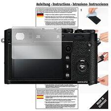 6x Schutzfolie für Fujifilm X100F Folie Displayschutzfolie klar Displayfolie