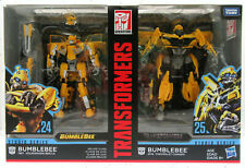 Transformers Studio Series 24 and 25 Deluxe Class Bumblebee 2pk Christmas Gift