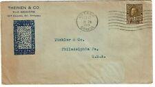 New ListingCanada 1918 Ottawa cancel on cover Therien & Co. Rug Weavers, War Tax