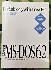 MS-DOS 6.2 OEM package NEW and Sealed
