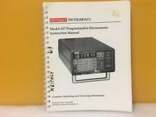Keithley Instruments 617 901 01 617 Programmable Electrometer Instruction Manual
