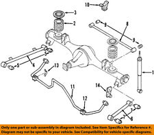 ISUZU OEM 98-01 Rodeo Stabilizer Sway Bar-Rear-Bushings 8971400891