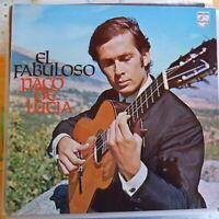 PACO DE LUCIA LP EL FABULOSO GERMANY VG++/VG++