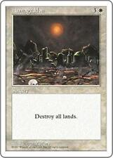 ARMAGEDDON Fifth Edition MTG White Sorcery RARE