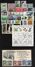 Europe & British 1940 80s Collection 80+ Mint Stamps 5 Covers & 4 Souvenir Sheet