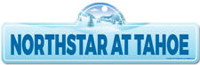 Northstar at Tahoe Street Sign | Snowboarder, Décor for Ski Lodge, Cabin, House