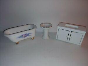 Doll House Bathroom Set