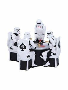Original Stormtrooper Poker Face Gambling Figurine Star Wars Statue Nemesis Now