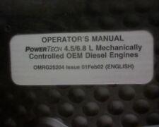 Media John Deere 3800 Telescopic Handler Owners Operators Manual Service Book Manuals