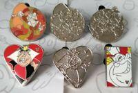 Alice in Wonderland Card Suits 2013 Hidden Mickey DLR Set Choose a Disney Pin