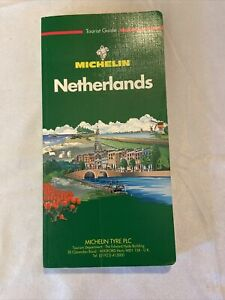 Michelin Netherlands map tourist guide