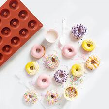 18 cavité donut moule ronde en forme de beignets outil de cuisine pan de cuisson