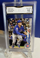 Nico Hoerner RC -2020 Topps Series 1 #70 GMA Gem Mint 10 Similar PSA
