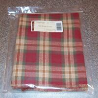 Longaberger Orchard Park Plaid SMALL WORK LOAD Basket Liner ~Made in USA~ New!