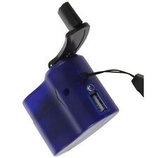 1x Hand Power Dynamo Hand Crank USB Emergency Charger Gadget for Mobile Phone