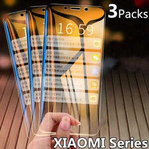 Tempered Glass Screen Protector For Xiaomi Redmi Note 9s Pro 8T 9A Mi 10 Lite A3
