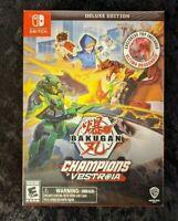 Nintendo Switch Bakugan: Champions of Vestroia Deluxe Edition + Ultima Dragonoid