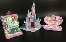 LOT ANCIENS POLLY POCKET CHATEAU SPARKLING MERMAID PERSONNAGES VINTAGE