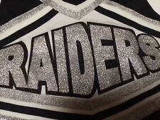 Real Cheerleading Uniform Raiders Youth M