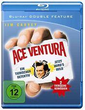 ACE VENTURA & ACE VENTURA WHEN NATURE CALLS -  Blu Ray - Sealed Region B for UK