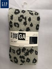 GAP Girls' Kids' Leopard Collant Footed Size S Brand New US Seller 1 Pair Socks