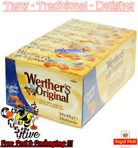 Werthers Original  Sweets 24 Packets Creamy Toffee